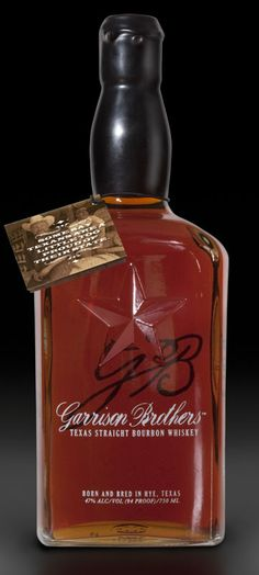 Garrison Brothers' Texas Straight Bourbon Whiskey