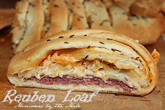 Reuben Loaf from Memories by the Mile- awwww.... my mom used to make one that looks just like this one! :)