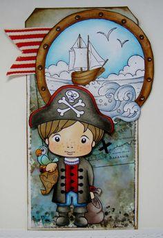 La-La Land Crafts Blog: Pirate Luka