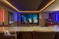 21 Awesome Basement Home Theater Ideas For Your Room   #Basement #Home+Theater #Home+Design