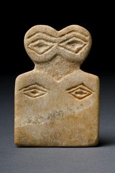 Eye idol Ancient Near East 4th Millennium BC