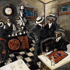 Le Bar aux Canotiers  (1908), Auguste Chabaud