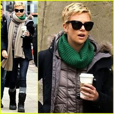 I LOVE YOUR HAIR, Ms. Charlize Theron!!