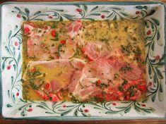Porsaankyljykset isäni makuun - Hunajainen Sam Oy Food Test, Lasagna, Quiche, Chili, Breakfast, Ethnic Recipes, Morning Coffee, Chile, Chilis