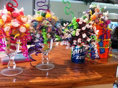 Gifts to Make - candy bouquets