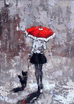 Alexander Gunin / oil, canvas, 55x40cm, 2015.