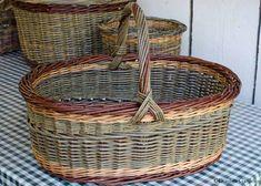 Elena's willow basket - nice, even weaving of a tough fiber!