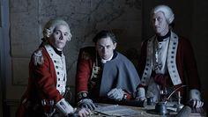 Captian Hewlett, Major John Andre and Captain Simcoe.