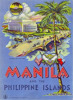 Philippine Holidays, Philippine Art, Filipino Culture, Tourism Poster, Vintage Travel Posters, Retro Posters, Manila Philippines, Illustrations, Vintage Advertisements