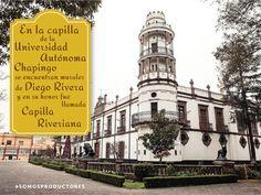 En la capilla de la Universidad Autónoma Chapingo se encuentran murales de Diego Rivera y en su honor fue llamada Capilla Riveriana. SAGARPA SAGARPAMX #SOMOSPRODUCTORES