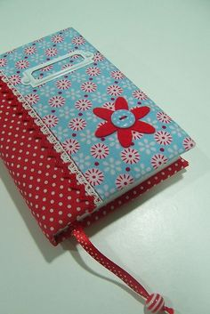 sewing idea for notebook cover ♥
