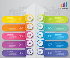 Infographic Template Powerpoint, Circle Infographic, Powerpoint Free, Powerpoint Design Templates, Chart Infographic, Templates Free, Footer Design, Web Design, Background Design Vector