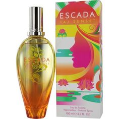 Taj Sunset by Escada for Women, Eau de Toilette Spray, 3.4 Ounce by Escada. $109.99. Fragrance Introduced in 2010 by Escada. For Casual Use. Notes Consist Of A Floral Fruity Arrangement, Mango, Nectarine, Coconut, Sandalwood And Musk. ESCADA TAJ SUNSET by Escada EDT Spray 3.4 Oz for WomenWhenapplyingany fragrance please consider that there are several factors which can affect the natural smell of your skin and, in turn, the way a scent smells on you. For instance, your...