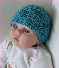 Knitting Patterns Online - Knitting Patterns for Beanies - Timmy Knitting Ideas, Baby Knitting Patterns, Baby Patterns, Free Knitting, Knitted Baby Beanies, Knitted Hats, Crochet Hats, Baby Month By Month, Headbands