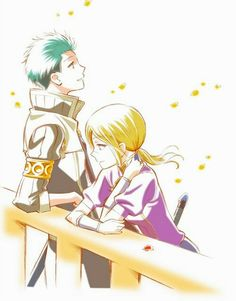 Mitsuhide and Kiki are one of my otp's. Also they would make one of the cutest couples ever!