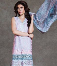Sapphire Cambric Suits Collection 2015 Victorian Crochet B
