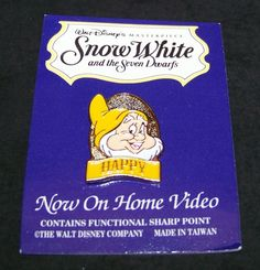 Happy Special Edition Pin Snow White Collectors Series