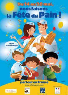 """Of course!  Mais oui!  Celebrate """"Bread week"""" en mai!"""