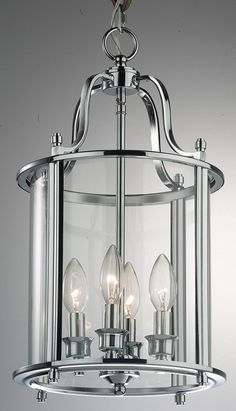 United Lights Lantern Frame 4 Light Chandelier | Wayfair UK