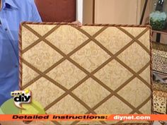 Even with e-mail and instant messages, notes, bills, photos and traditional mail can pile up quickly. A good clutter-cutter is a padded message board that you can make with fabric, plywood and a staple gun.