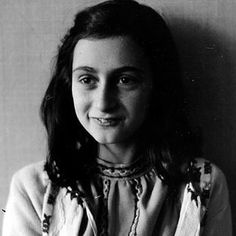 """""""I still believe, in spite of everything, that people are really good at heart.""""-- the heartbreaking words of Anne Frank, Jewish child murdered in the Holocaust. Foto Glamour, Jewish History, Ancient History, Portraits, Interesting History, Women In History, Famous Faces, Amazing Women, Wwii"""