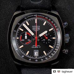 Acabou de desembarcar na #Danglar o TAG Heuer Monza, lançamento na Feira de Basel. Um relógio único com um perfeito toque vintage.   Se você está procurando por algo potente e moderno, mas com um estilo despojado, acabou a busca!   #TAGHeuer #Monza #Danglar #DanglarLuxuryStore #RepresentanteAutorizado #Relógio #Esporte