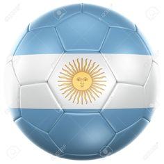 Este balón de fútbol es de Argentina. Los colores representa Aregentina. La  balón se 58efbd8885f32