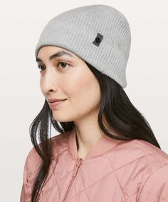 1a0f4c06 Lululemon All For It Beanie - Heathered Core Light Grey - lulu fanatics  Headbands For Women