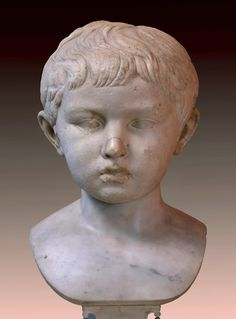 Bust of a Boy from the Family of the Emperor Octavian Augustus