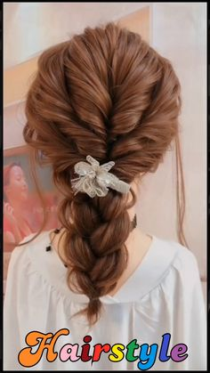 Easy & Quick Hairstyle Braid Tutorial For Long And Medium Length Hair Step By Step Beautiful hairstyles for school - Easy Hair Style for Long Hair - Party Hairstyles - Hairstyles tutorials for girls #braidstyles #hairtutorial #hairvideos #braidedhair #dutchbraids #frenchbraid #videotutorial #bridehairstyles hairstyles for #girls #hairstyles for long hair bun hairstyles curly easy hairstyles hairstyles cute hairstyles #beautiful hairstyles party hairstyles beauty quick hairstyles school Hairdo For Long Hair, Easy Hairstyles For Long Hair, Girl Hairstyles, Messy Ponytail Hairstyles, Easy Wedding Guest Hairstyles, Pretty Braided Hairstyles, Modern Hairstyles, Beautiful Hairstyles, Party Hairstyles