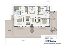 Casino Party Decorations, House Plans, Sweet Home, Villa, Floor Plans, Layout, Exterior, Flooring, How To Plan