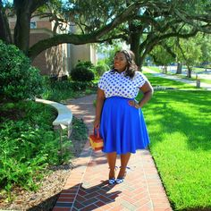 Happy Sunday! Polka dots are basically one of my all time favorite patterns EVER!!! So it was a no…