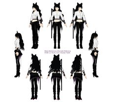 Blake Belladonna Rwby season 2 - If I ever cosplay I would do this outfit.