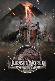 The story is based on a dinosaur which is created at Jurassic World, which is a theme park, located on an island, called Isla Nublar, which was the site of the original Jurassic Park. The Jurassic World contain so many species of Dinosaurs' clones. Jurassic World Poster, Jurassic World Wallpaper, Blue Jurassic World, Jurassic Park Series, Jurassic Park 1993, Jurassic World Fallen Kingdom, Michael Crichton, Dinosaur Background, Free Poster Printables
