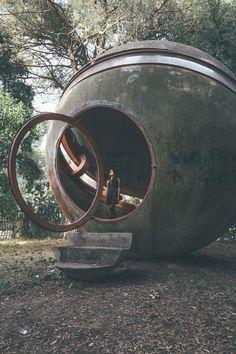 Oliver Astrologo photographie les Ruines de la Maison expérimentale de Rome (3)