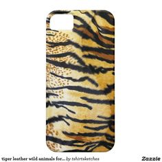 #tiger #leather #wild #animals for wild #woman barely there #iPhone 5 #case