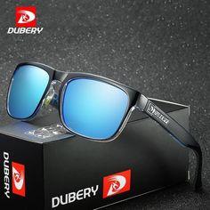 87ae4ab81b DUBERY Polarized Sunglasses Men s Vintage Male Colorful Sun Glasses For Men  Fash