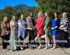 Teen Challenge of Southern California graduates, Ventura Class, April 2017.