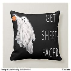 Shop Funny Halloween Throw Pillow created by halloweenies. Halloween Bedroom, Halloween Pillows, Halloween Door, Fall Halloween, Funny Halloween, Halloween Party, Halloween 2020, Halloween Stuff, Halloween Ideas