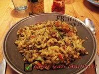 Indische macaroni - Geur van Maillard