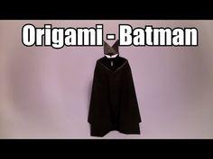 Origami Daily - 326: Batman - TCGames [HD] - YouTube