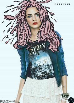 <> >> C Delevingne +:) Kendall Kendall Velazquez Fashion Collage, Pop Fashion, Portrait Photography, Fashion Photography, Visual Aesthetics, Draw On Photos, Photo Illustration, Photography Illustration, Grafik Design