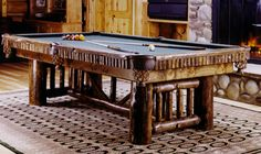 YELLOWSTONE COLLECTION - STANDARD & WILDERNESS COLLECTION - Pool Table