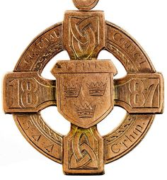 A history of Ireland in 100 objects: GAA medal, 1887 - The Irish Times - Sat, Oct 2012 Celtic Crosses, Celtic Symbols, Erin Go Braugh, Ireland Pictures, Irish Times, Irish Roots, Irish Blessing, Emerald Isle, Ireland Travel
