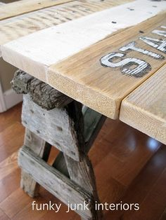 Funky Junk Interiors - all you ever needed to know about pallet wood