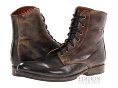 Bed Stu Post Men Leather Military Inspire Winter Combat Boot F467302  Blk Rustic bbe2215890ba7