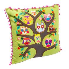"Flock Pillow  16"" x 16""  ($78.00)  $31.00  Joss and Main"