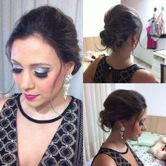 Make e cabelo para casamento