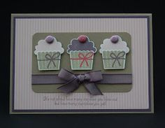 Julie's Japes - A Top Independent Stampin' Up! Demonstrator in the UK: More Cupcakes - yeah!!