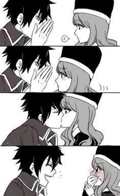 Gray x Juvia = Gruvia  They very cute!! :D <3